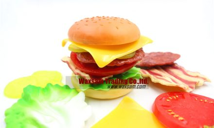 Hamburger  Kid Pretend Play Food Assortment Toy