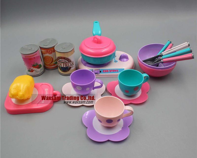 Kids Learning Pretend & Play Cooking Set